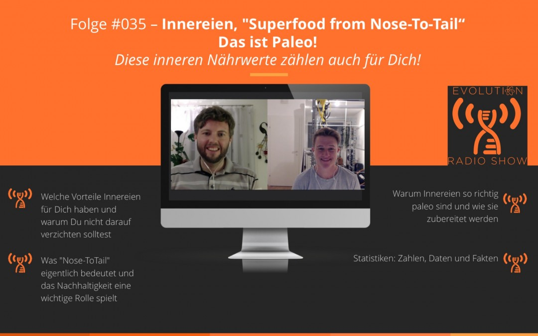 "Folge #035: Innereien, ""Superfood from Nose-To-Tail"" – Das ist Paleo!"