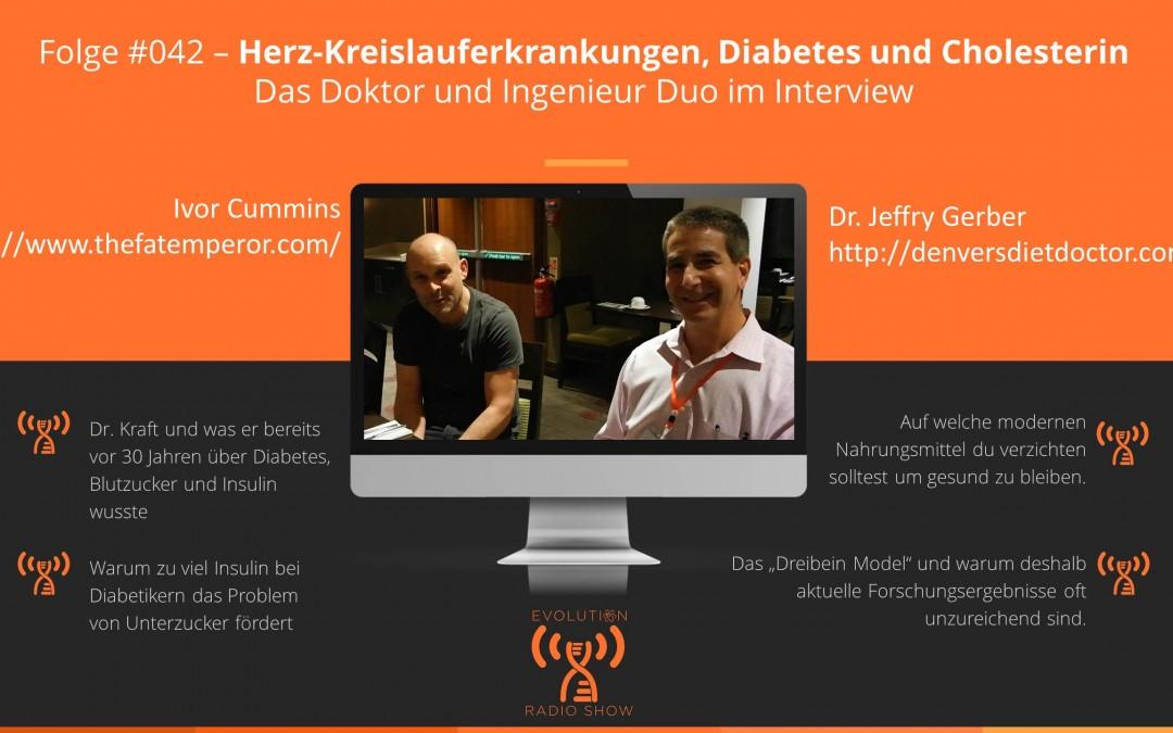 Folge #042: Herz-Kreislauferkrankungen, Diabetes und Cholesterin