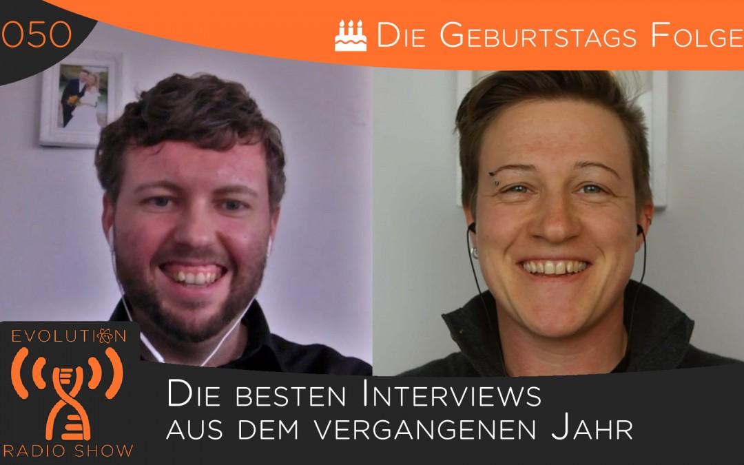 Folge #050: Die besten Interviews aus dem vergangenen Jahr