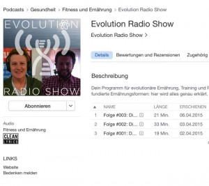 Podcast in iTunes
