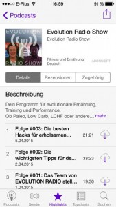 Podcast iPhone Evolution Radio Show Abonniert