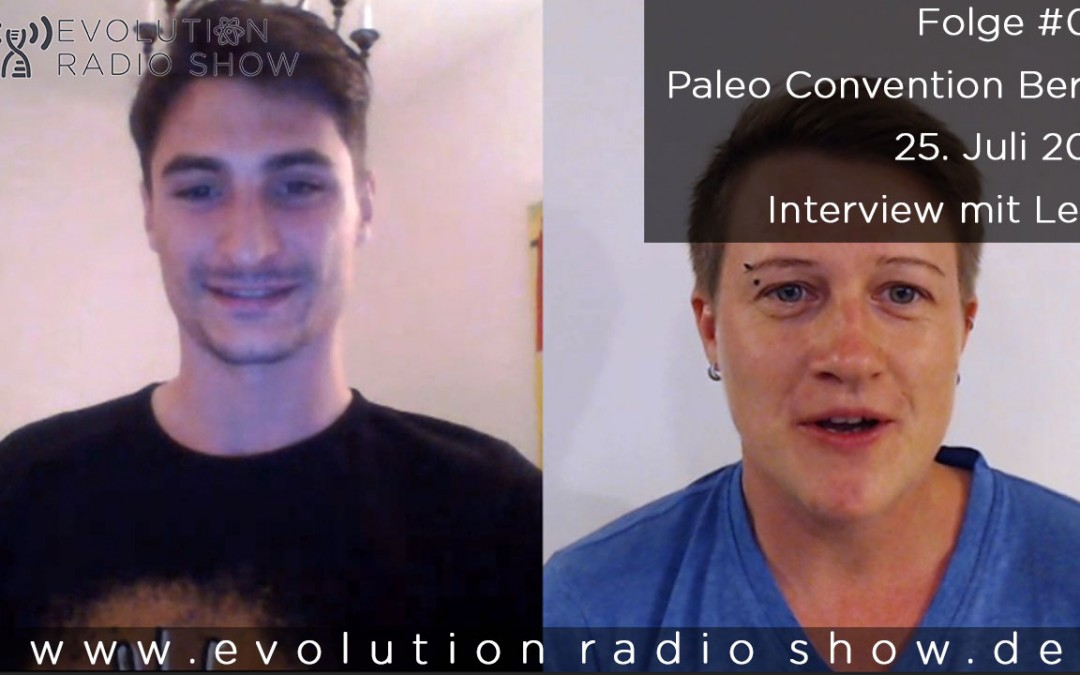 Folge #012 – Paleo Convention Berlin – 25. Juli 2015 – Interview mit Leon