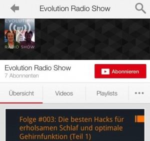 Youtube Kanal Abonnieren iPhone