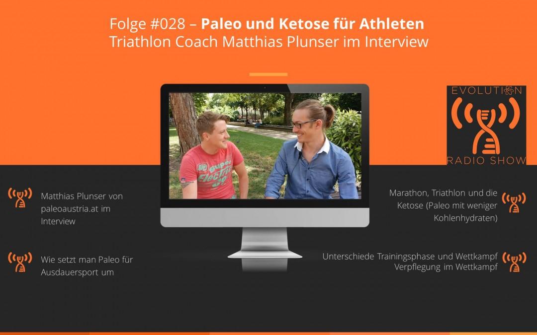 #028 – Paleo und Ketose für Athleten | Triathlon Coach Matthias Plunser im Interview