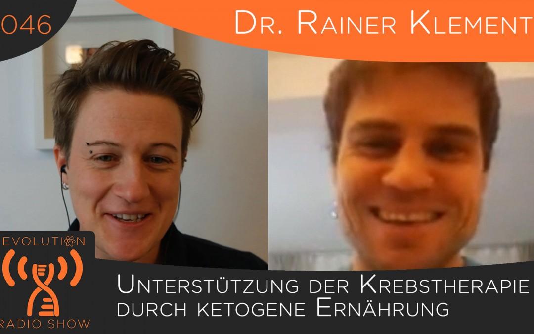 Unterstützung der Krebstherapie durch ketogene Ernährung – Interview mit Dr. Rainer Klement | Folge #046