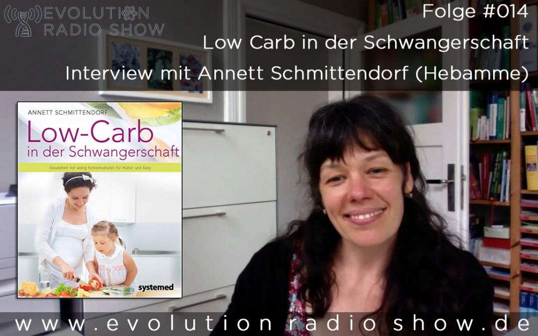 Folge #014 – Low Carb in der Schwangerschaft – Interview mit Annett Schmittendorf (Hebamme)
