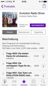Podcast iPhone Evolution Radio Show Abonnieren