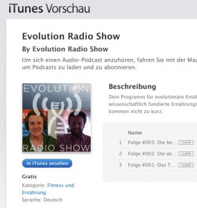 Evolution Radio Show iTunes