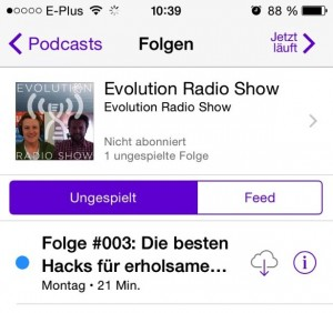 Podcast iPhone Evolution Radio Show
