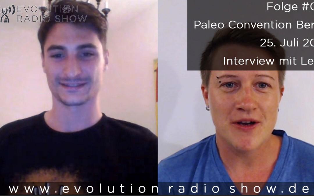 Folge #012 – Paleo Convention Berlin – 25. Juli 2015 – Interview mit Leon